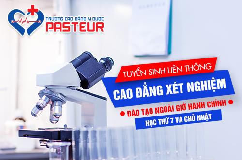 Học Liên thông Cao đẳng Xét nghiệm tại Trường Cao đẳng Y Dược Pasteur