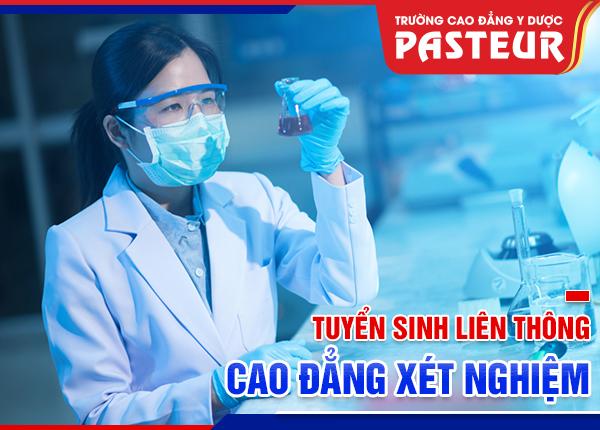 Đào tạo liên thông Cao đẳng Xét nghiệm tại Hà Nội học phí thấp