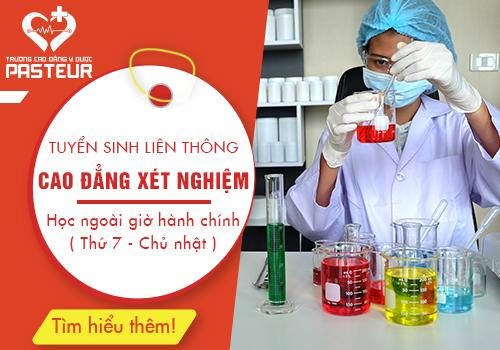 Tuyển sinh liên thông Cao đẳng Kỹ thuật Xét nghiệm tại Hà Nội năm 2019