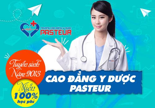 Cơ hội được miễn học phí năm 2018 khi học Trường Cao đẳng Y Dược Pasteur