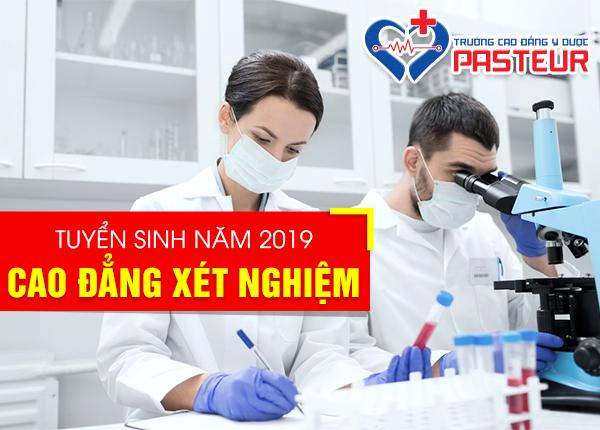 Tuyển sinh Cao đẳng Xét nghiệm Y học tại Hà Nội năm 2019