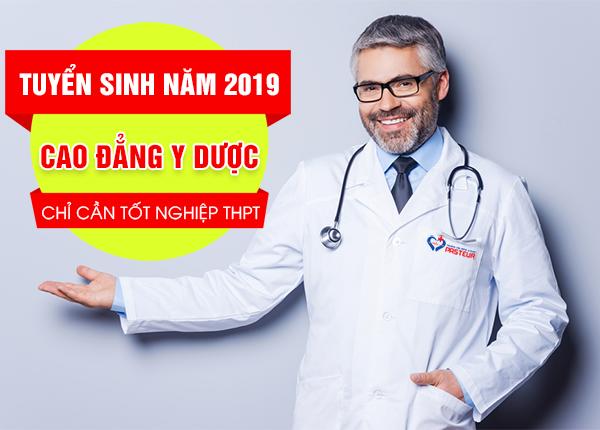 Tuyển sinh Cao đẳng Y Dược tại Hà Nội năm 2019 chỉ cần tốt nghiệp THPT