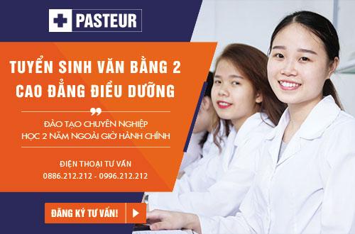 Trường Cao đẳng Y Dược Pasteur là địa chỉ uy tín đào tạo Văn bằng 2 Cao đẳng Điều dưỡng