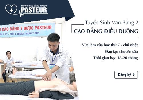 Thông tin tuyển sinh văn bằng 2 Cao đẳng Điều dưỡng Hà Nội 2018.