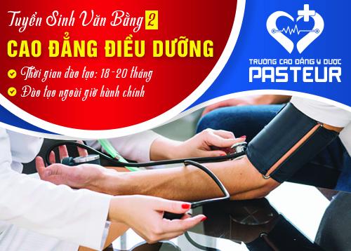 Tuyển sinh văn bằng 2 Cao đẳng Điều dưỡng tại Hà Nội học ngoài giờ hành chính