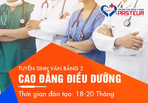 Hồ sơ học văn bằng 2 Cao đẳng Điều dưỡng Hà Nội năm 2019