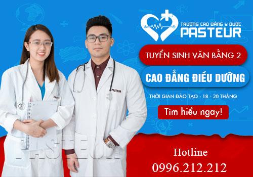 Văn bằng 2 Cao đẳng Điều dưỡng Hà Nội tuyển sinh năm 2019