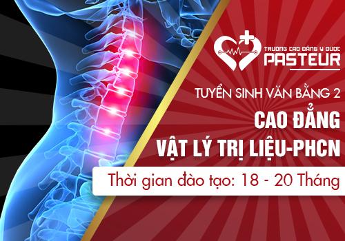 Tuyển sinh văn bằng 2 Cao đẳng Vật lý trị liệu và PHCN