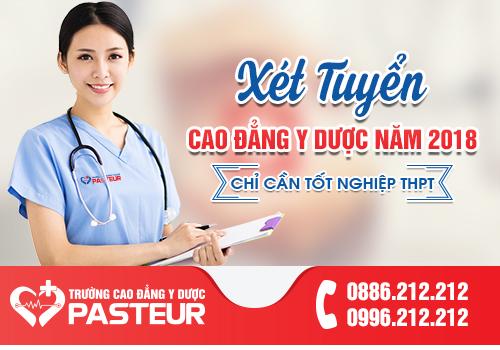 Học ngành Y Dược tại Trường Cao đẳng Y Dược Pasteur