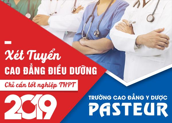 Trường Cao đẳng Y Dược Pasteur đào tạo Điều dưỡng viên chuyên nghiệp.