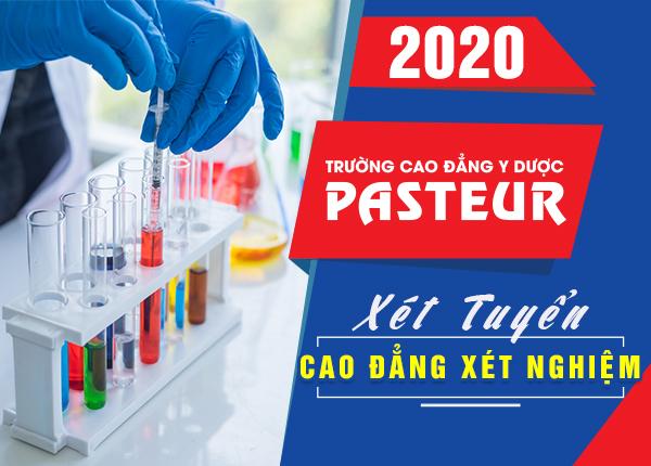 Tuyển sinh Cao đẳng Xét nghiệm năm 2020