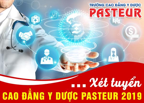 Xét học bạ vào Cao đẳng Y Dược Pasteur Hà Nội hệ chính quy 2019