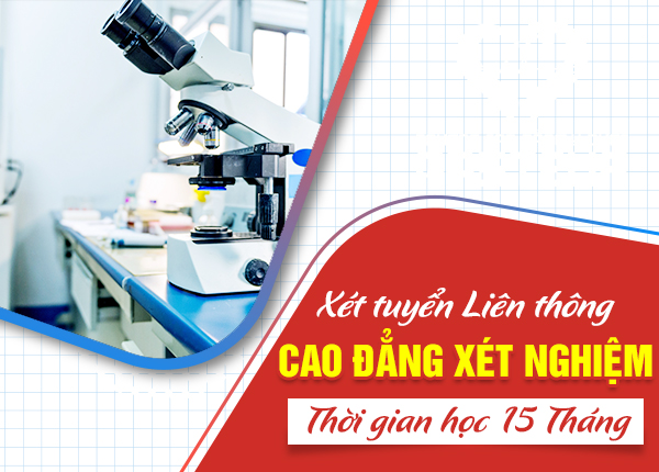 Lịch khai giảng lớp liên thông Cao đẳng Xét nghiệm tại Hà Nội tháng 3/2021