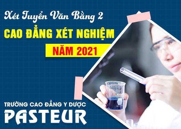 Lịch khai giảng lớp văn bằng 2 Cao đẳng Xét nghiệm tại Hà Nội năm 2021