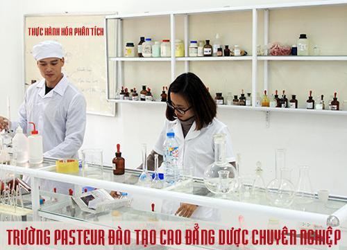 Trường Cao đẳng Y Dược Pasteur xét tuyển xóa bỏ áp lực điểm chuẩn Cao đẳng Dược