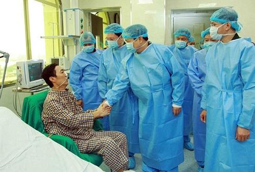 Bệnh nhân đầu tiên được ghép phổi tại BV TƯ Quân đội 108