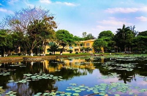 Đại học Nông nghiệp là một trong những trường có khuôn viên đẹp nhất Hà Nội