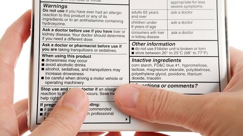 Nội dung trên tờ hướng dẫn sử dụng thuốc