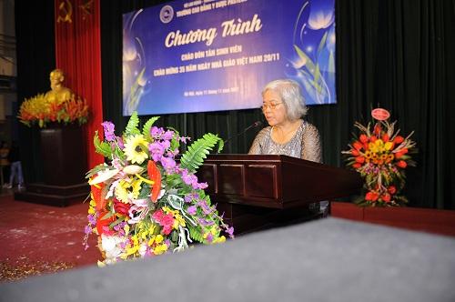 Khai giảng khóa 09 Trường Cao đẳng Y Dược Pasteur và chào mừng 35 năm ngày Nhà giáo Việt Nam 20/11