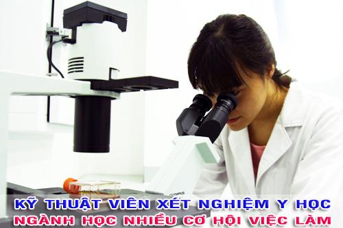 Học ngành Xét nghiệm Y học có nhiều cơ hội việc làm