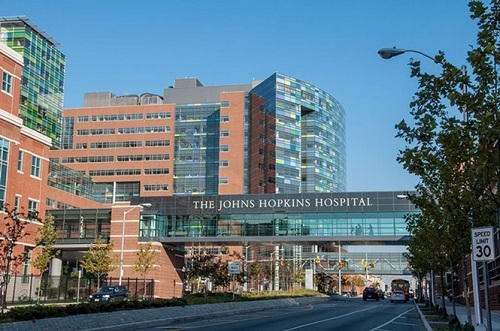 Bệnh viện Johns Hopkins (JHH), bang Maryland, Mỹ