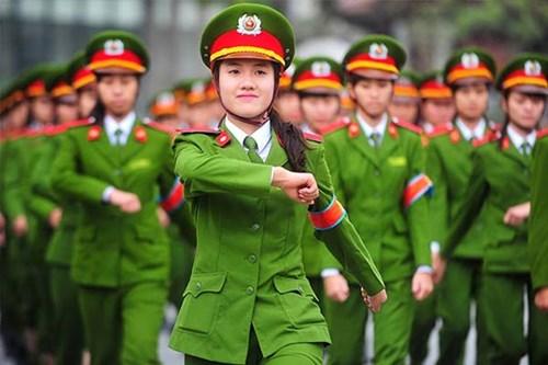 Chỉ tiêu tuyển sinh nữ vào các trường quân đội