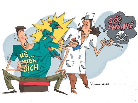 Dịch truyền cũng có thể gây sốc phản vệ nguy hiểm đến tính mạng người bệnh