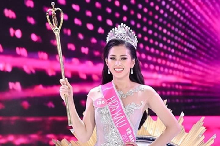 Hoa hậu Việt Nam năm 2018 Trần Tiểu Vy