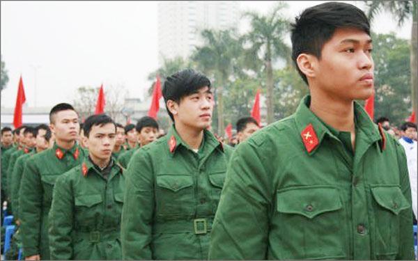 Các Trường Quân đội không tuyển thí sinh có hình xăm