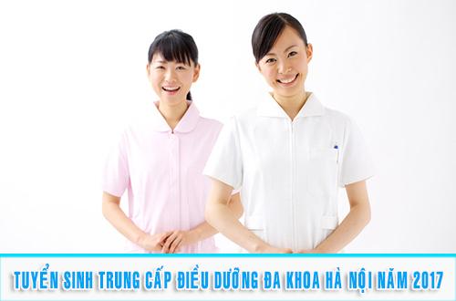 Thông báo tuyển sinh Trung cấp Điều dưỡng Hà Nội năm 2017