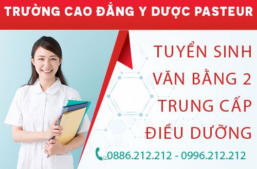 Tư vấn tuyển sinh văn bằng 2 Trung cấp Điều dưỡng Hà Nội năm 2017