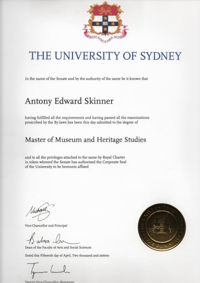 Tìm hiểu về mẫu văn bằng đại học của các nước trên thế giới - 4