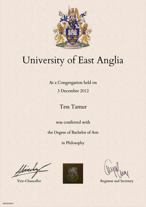 Tìm hiểu về mẫu văn bằng đại học của các nước trên thế giới - 2